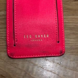 Ted Baker London Accessories - Ted Baker Leather Luggage Tag